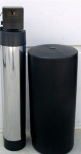 Water filter and softener setup