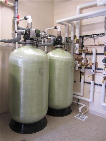water treatment system water softener
