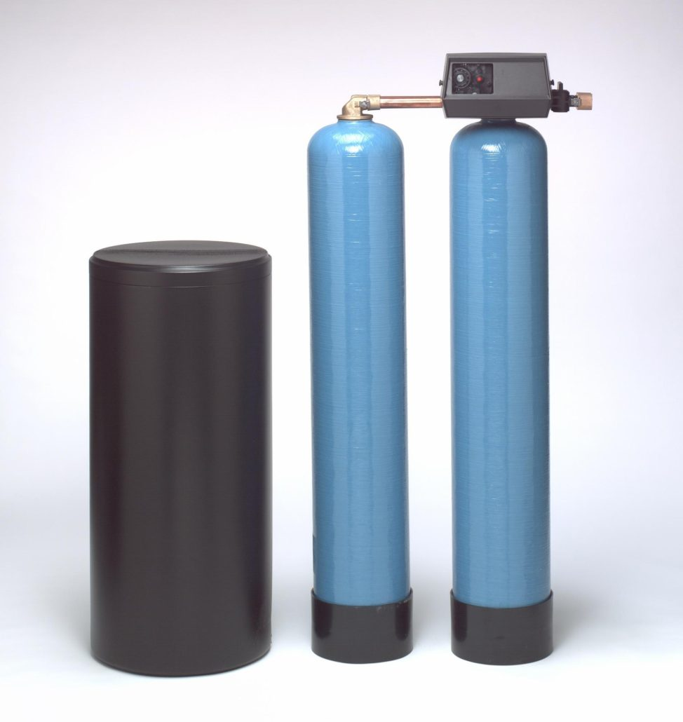 twin alternating water softeners
