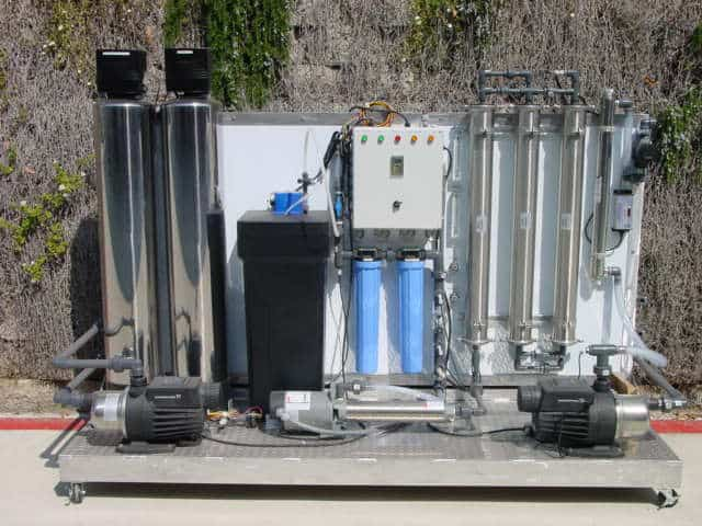 water store reverse osmosis system